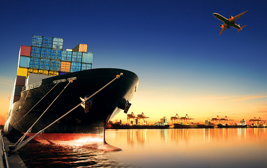A ship we have assisted with import freight forwarding